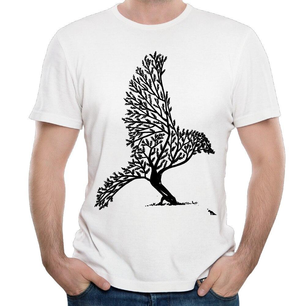 Zinc shirt design - Bird Tree Design Graffiti Art Summer Fashion Men S T Shirt