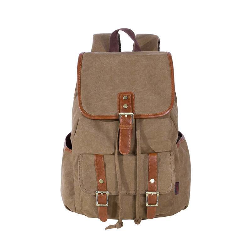 ФОТО Best Sellers Canvas Backpack Classic fashion women's small fresh School Bag Travel Bags Large Capacity Travel Backpack Bag