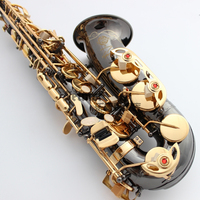 High Quality Saxophone Alto Sax Selmer 54 Professional E Flat Alto Saxophone Musical Instruments Black Nickel
