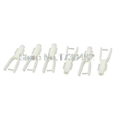 6pcs 1.5mm Dia Push Rod RC Helicopter Boat Car Rudder Servo Nylon Clevis Clip6pcs 1.5mm Dia Push Rod RC Helicopter Boat Car Rudder Servo Nylon Clevis Clip