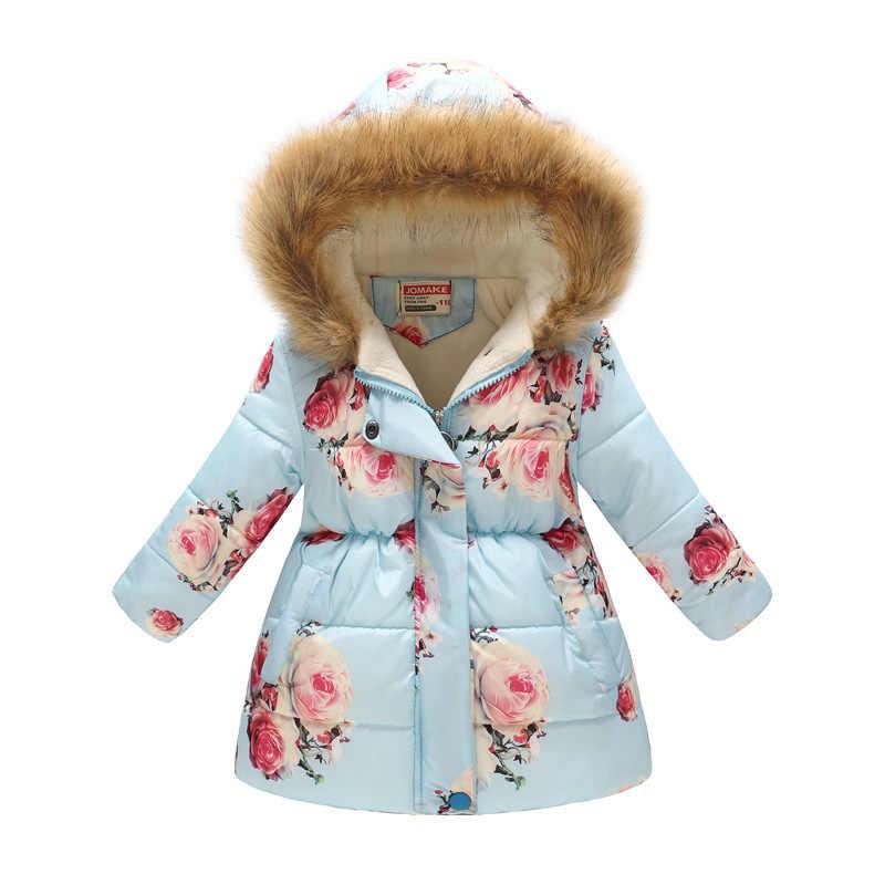 בנות Parka 2020 חורף מעיל עבור בנות מעיילים עבור בנות למטה ילדי מעיל חם ברדס הלבשה עליונה מעיל 7 8 9 שנה