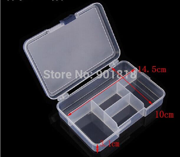 5 Slots (não Ajustável) Tool Box Caso Artesanato Organizador De Armazenamento Caixas de Jóias Encontrar F668