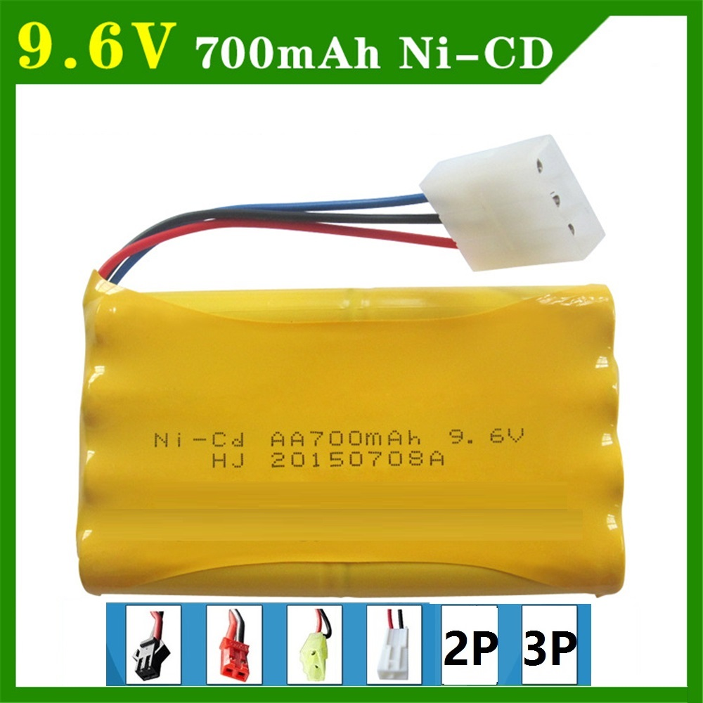 9.6 V 700mAh Remote Control Toys Electric toy security facilities electric toy AA battery battery group Tamiya Plug