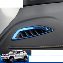 lsrtw2017 car styling dashboard air conditioner vent trims for changan cs35 plus 2018 2019