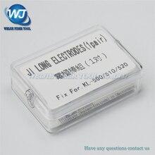 Free shipping Electrodes Jilong kl 510 kl510 kl 520 kl 500 Fusion Splicer Electrodes