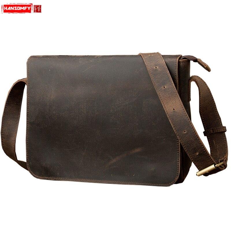 ba7cf9f8db25b Toptan Satış handmade leather briefcase Galerisi - Düşük Fiyattan satın  alın handmade leather briefcase Aliexpress.com'da bir sürü
