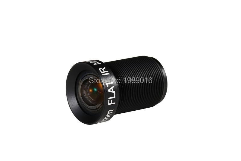 4.35MM Lens 1/2.3 Inch 10MP HFOV 72D Flat 4K Lens for Go pro Xiaomi Yi SJCAM DJI Phantom 3/4 Drones 17 Newly Hot Camera Lens 2