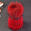 Brand  New 2016 Women Spring Winter Hats Beanies Knitted Crochet Hat Rabbit Fur Pompons Ear Protect Casual Cap Chapeu Feminino