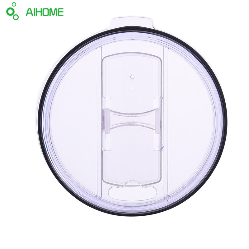 10 Pcs/lot Crystal Clear Splash Spill Resistant Proof LID for YETI/RTIC 20 Oz 30 Oz Rambler Tumbler <font><b>Cup</b></font> Replacement <font><b>Hot</b></font> Selling