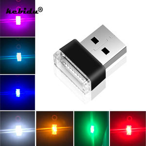 Car-Light Atmosphere Mini Kebidu Play-Lamp LED And PC Decor-Plug Auto-Products Auto-Interior