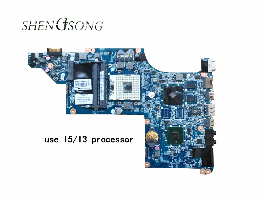 631042-001 Free Shipping laptop motherboard for HP DV6 DV6-3000 HM55 HD6370 Fully tested motherboard DA0LX6MB6F2 DA0LX6MB6H1 hot sale 603643 001 laptop motherboard for hp dv6 4000 hm55 fully tested mainboard mother boards da0lx6mb6f2
