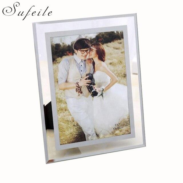 Fotolijst 5 Fotos.Sufeile Fotolijst Crystal Clear Glas Fotolijst Slinger Foto Maat 5