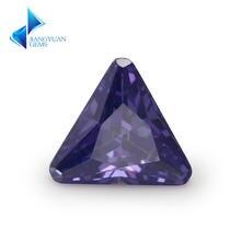 Размер 5*5 ~ 8*8 мм треугольная форма фаски Конер 5a фиолетовый