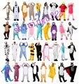 Comercio al por mayor Unicorn Stitch Unisex Franela Con Capucha Pijamas Traje Cosplay Animal Bodies Pijamas Hombres Mujeres Adultos Envío Gratis