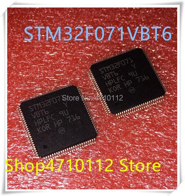 NEW 5PCS LOT STM32F071VBT6 STM32F071 VBT6 LQFP 100 IC