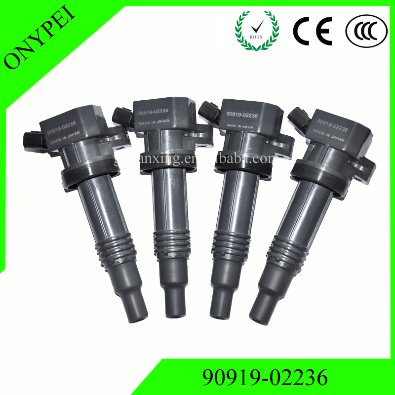 4pcs /lots 90919-02236 New Ignition Coil 9091902236 For Toyota - Auto Replacement Parts - Photo 1