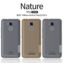 For Asus Zenfone 3 Max ZC520TL Case Nillkin Nature TPU Case for Asus Zenfone 3 Max ZC520TL 5.2 inch with Retail Package