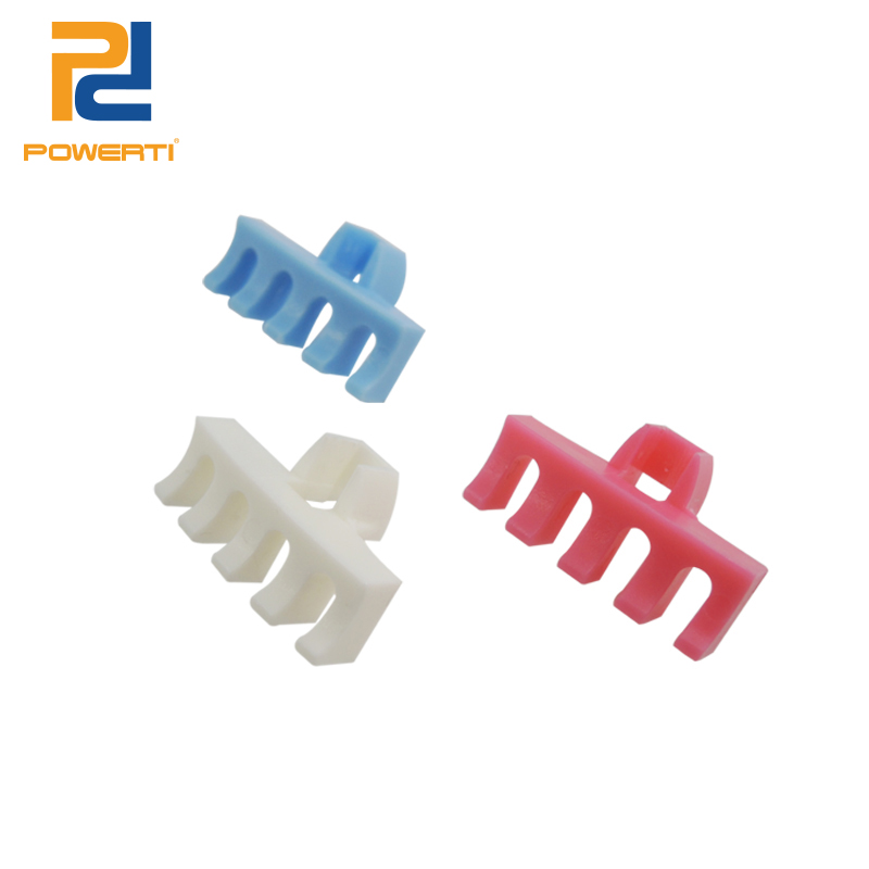 POWERTI 4 Pcs/lot Badminton Racket Stringing Machine Tool Load AWL Spreader Adapter With 5 Tooth