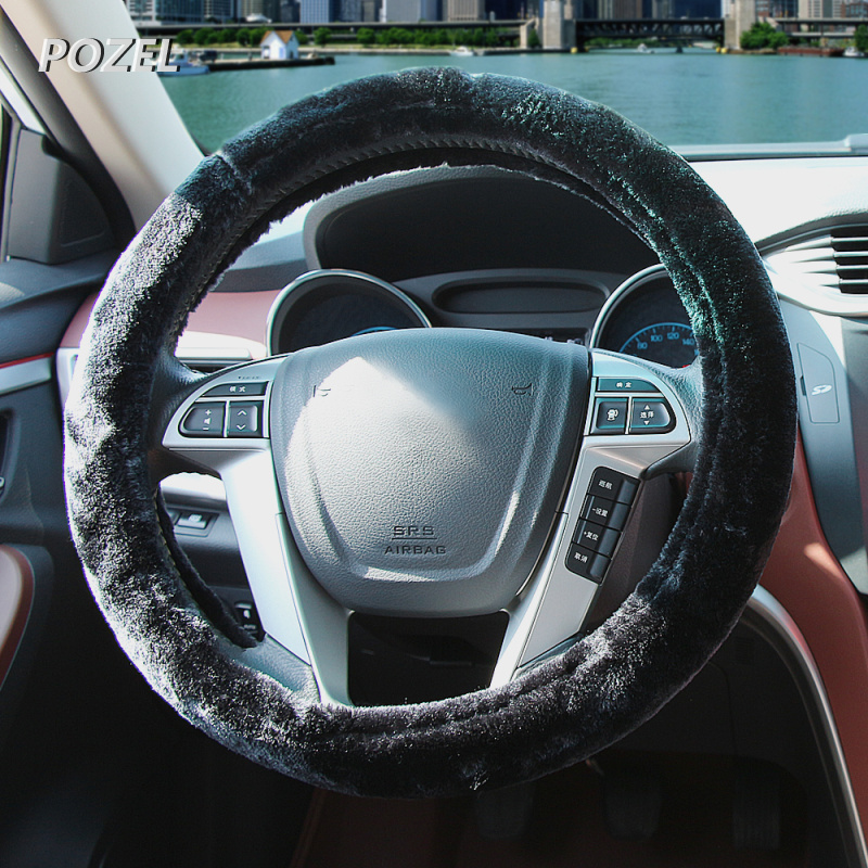 Us 5 99 16 Off Winter Car Steering Wheel Cover For Ford F150 F250 Focus3 Focus2 Focus Mk2 Kuga Ka Fiesta Hatch F Series Fusion Mondeo In Steering