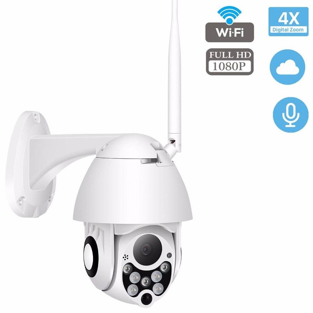Caméra IP PTZ extérieure HD 1080 P 2MP Onvif vitesse dôme IP66 étanche Surveillance de sécurité ipcam extérieur camara de vigilancia
