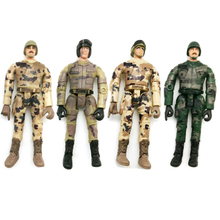 4Pcs WPL Simulate Action Figure Soldier Doll Model Multi-Joint Movable RC Car Parts Kids Military Toy Collection Ornament #17