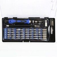 86Pcs Screwdriver Set Series Kit Bits Phone Dismantling Crowbar Scraper Laptop Tablet iPad Repairing Tool Ruler Tweezers Pry Bar