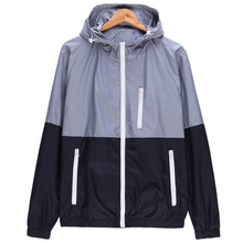 2017 NEW Fashion High Quality Jacket Coats, Men Causal Hooded Jacket,Men Thin Windbreaker Zipper Coats Outwear