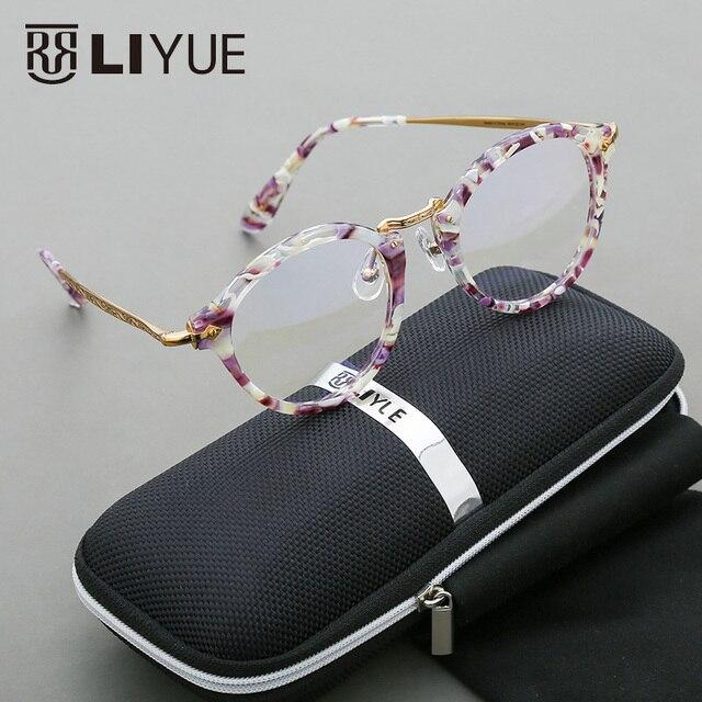 2016 ботаник очки мода круглый оправы для очков ретро очки очки рамка женщины очки компьютерные очки 70-х