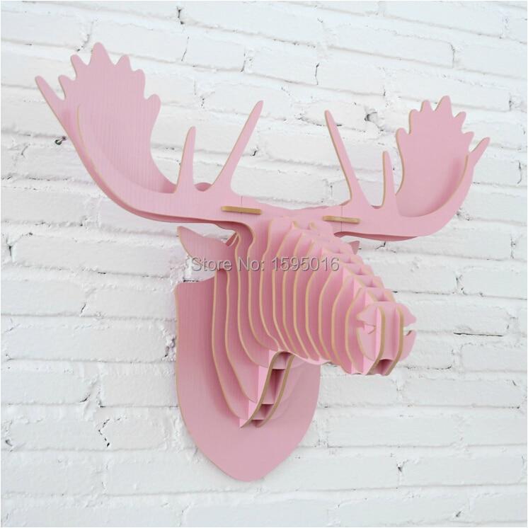 Moose head,caribou head,Scandinavian modern creative home decoration,Nordic Canada Finland Norway reindeer elk deer home decor