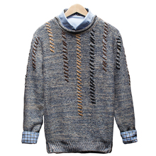2017 New Autumn & Winter Top Quality Solid O-neck Pullover Men Slim Fit Sweater Men Pull Homme Sudaderas Mens Sweaters Hot