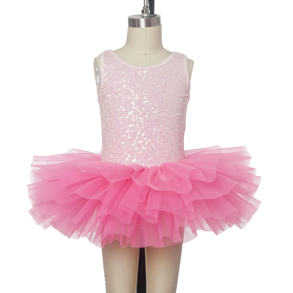 cbe37da465e3 Women Child Shining Sequins Camisole Ballet Tutu Ballerina Stage ...