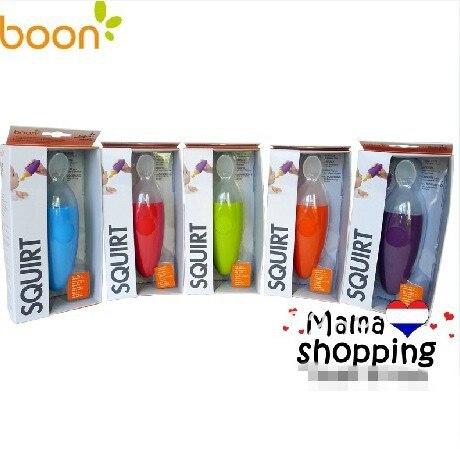Boon SQUIRT Baby Food dispensación alimentación cuchara-Naranja