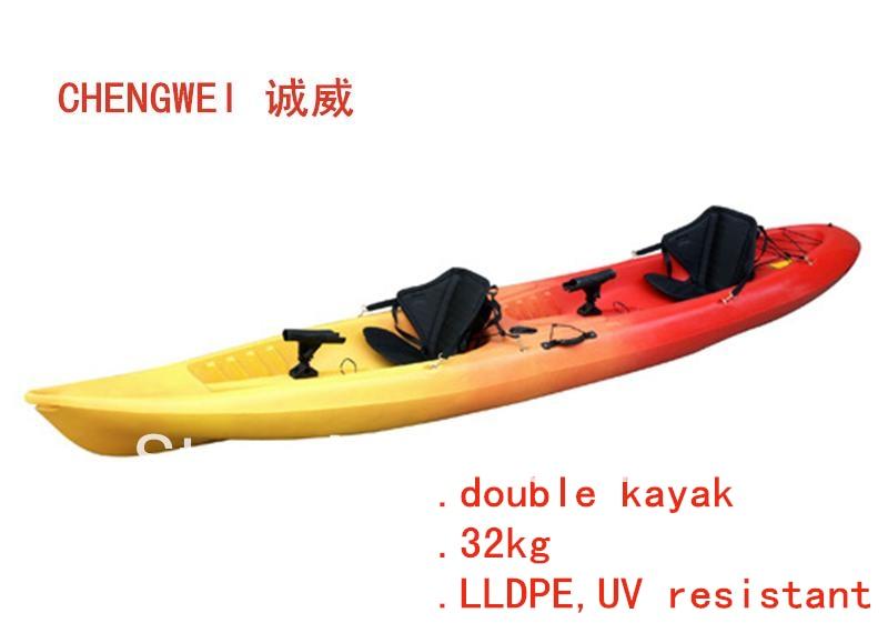 Sales promotion double sit on kayak fishing kayak for Double fishing kayak