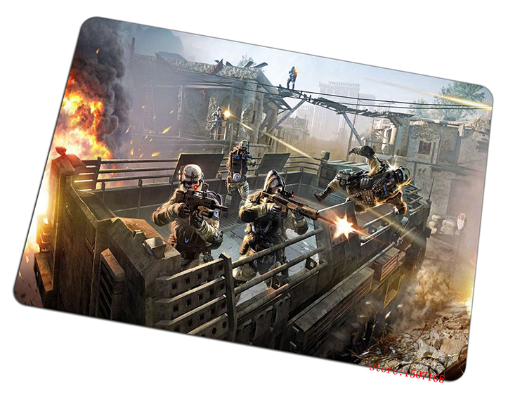 450x320x6mm cool warface mouse pad cheapest large pad to mouse computer mousepad Thickened gaming mouse mats to mouse gamer