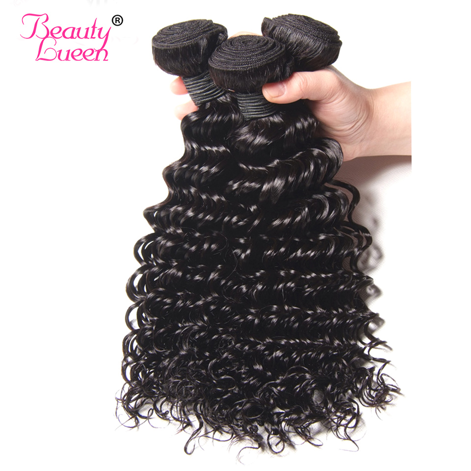 Ali Pearl Hair Long Length 28 30 32 34 36 38 40 Inches Brazilian Deep Wave Bundles 1 Piece Only Human Hair Remy Natural Color Human Hair Weaves Hair Extensions & Wigs