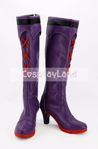 Image 2 - Honkai Impact 3 Yae Sakura Cosplay Boot Shoes Costume Accessories Halloween Party Boots for Adult Women High Heel Shoes