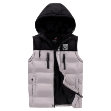 New Brand Mens Jacket Sleeveless Vest Winter Fashion Casual Coats Male Cotton-Padded Men's Vest Men Thicken Waistcoat L-4XL