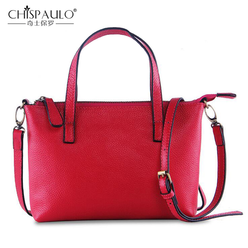 100% Genuine Leather Bags For Women Famous Brand Designer Handbags High Quality 2016 Ladies Shoulder Bag Cowhide Satchels Bags