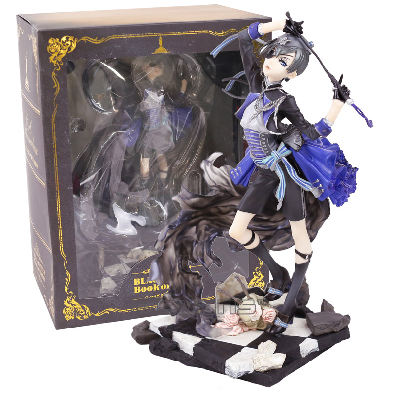 Black Butler Book of Muder Ciel Phantomhive PVC Figure Collectible Model Toy 21cm funko pop black butler ciel phantomhive vinyl figure