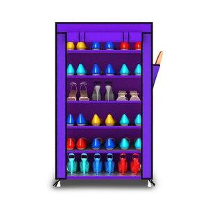 Image 5 - Actionclub souliers, Non tissés, épais, multicouche, armoire, anti poussière, assemblage créatif à bricolage, porte chaussures, étagère, organisateur