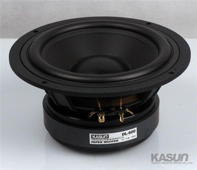 1 pcs MID/BASS Speaker DL 600 6.5 inch bass speaker 180W 6
