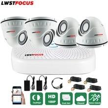 Full HD 1080P CCTV Kit Home Security Camera System 4CH CCTV Video Surveillance DVR Kit AHD Camera Set 1080N HDMI 5 IN 1 AHD DVR