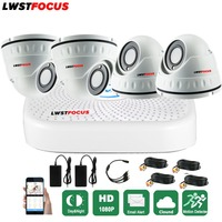 Full HD 1080P CCTV Kit Home Security Camera System 4CH CCTV Video Surveillance DVR Kit AHD