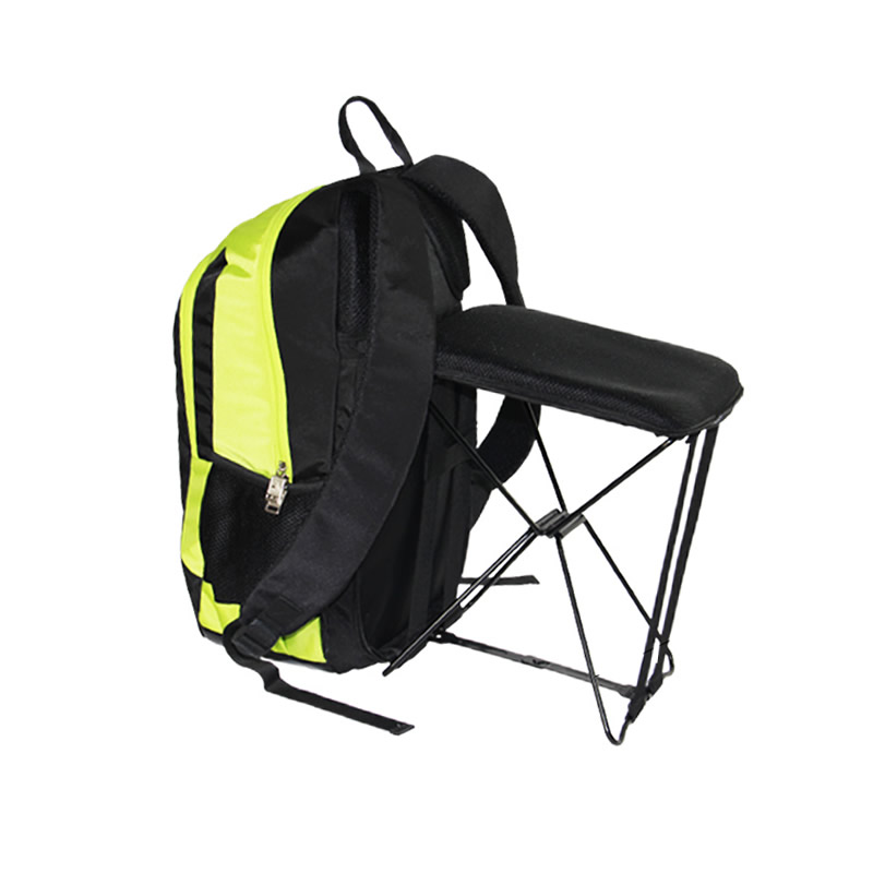 Fishing Chair Outdoor Portable Folding Stool Backpack High Quality Portable Outdoor Mountaineer Chair Backpack bamboo bamboo portable folding stool have small bench wooden fishing outdoor folding stool campstool train