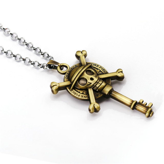 One Piece Bronze Metal Necklace
