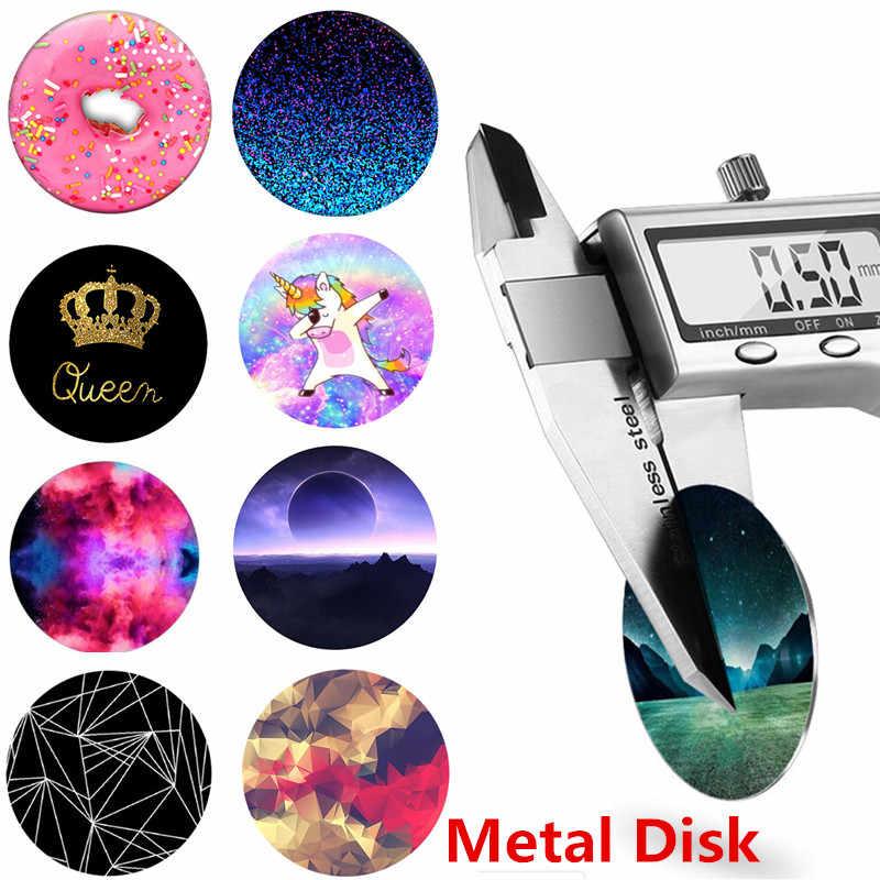 DIY Metal Plate Magnetic Disk For Car Magnet Iron Sheets For Mount Phone Holder