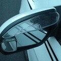 2Pcs Universal Car Rear View Mirror Flexible Anti Rain Guard Sun Shade Weatherstrip Car Accessory
