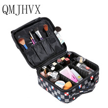 QMJHVX Makeup Artist Travel Accessories Professional Beauty Cosmetic Case for Cosmetic Bag Semi-permanent Tattoo Nails Multi-Lay