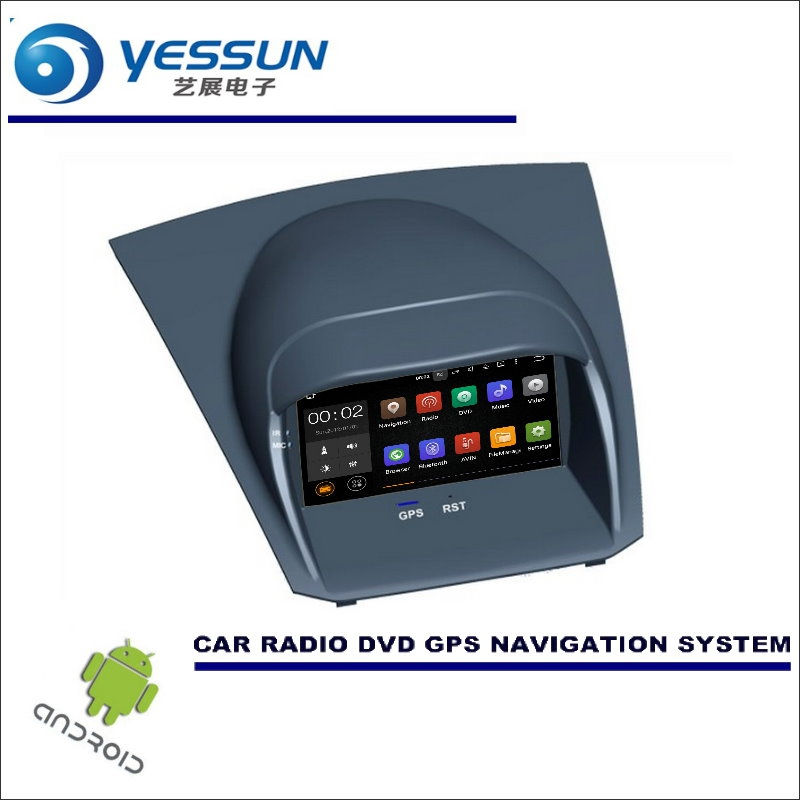 yessun wince android car multimedia navigation system for ford fiesta 2008 2017 cd dvd gps. Black Bedroom Furniture Sets. Home Design Ideas