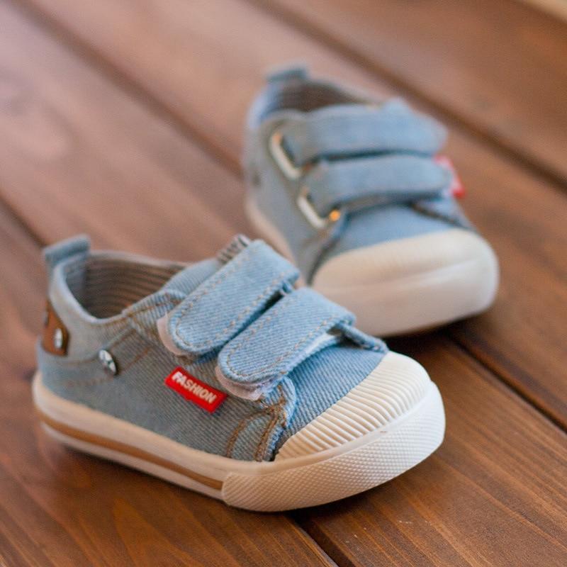 Kinder canvas schoenen 2018 lente kinder canvas casual Non-slip - Kinderschoenen - Foto 2